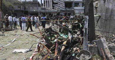 حافظ سعید کے گھر کے باہر زوردار دھماکہ، 2 افراد ہلاک متعدد زخمی