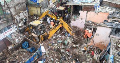 ممبئی میں بھاری بارش کے سبب عمارت گرنے سے11 افراد ہلاک، 18 زخمی