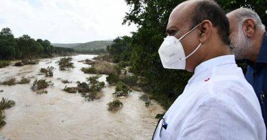 کرناٹک حکومت نے ریاست کے سیلاب زدہ علاقوں میں کاموں کیلئے 660 کروڑ روپے جاری کیے