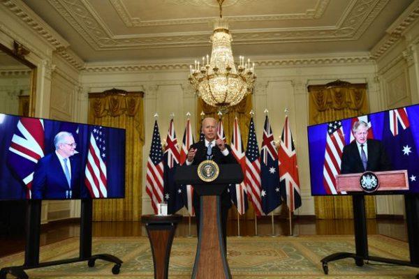 چین کے بڑھتے اثر کا مقابلہ کرنے کیلئے آسٹریلیا، برطانیہ اور امریکہ نے بنایا نیا اتحاد